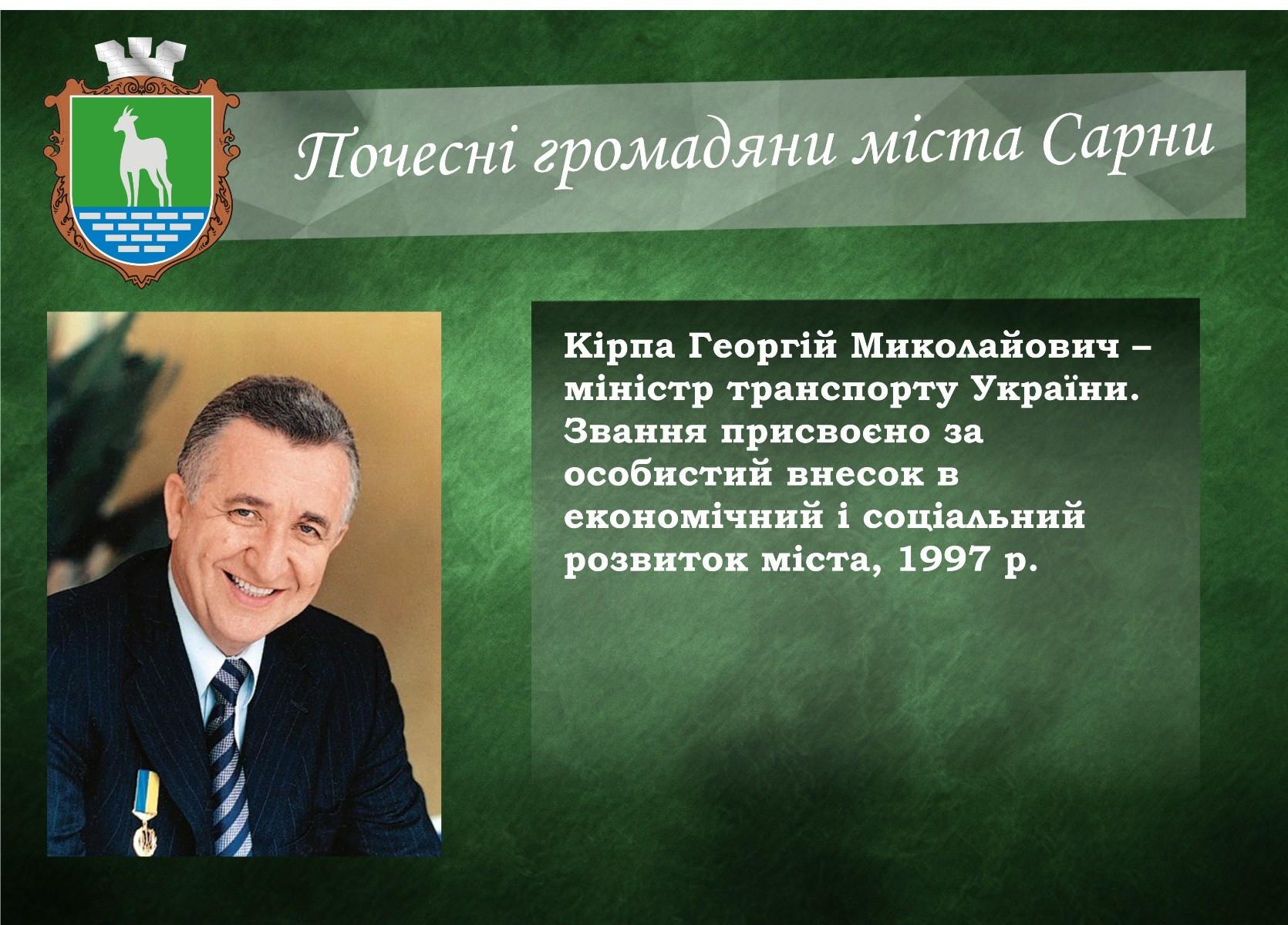 Кірпа Георгій Миколайович